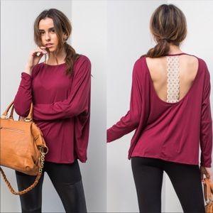 *1 Left* Burgundy Shirt 💙